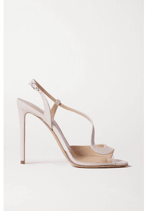 Nicholas Kirkwood - S Leather And Pvc Sandals - Baby pink