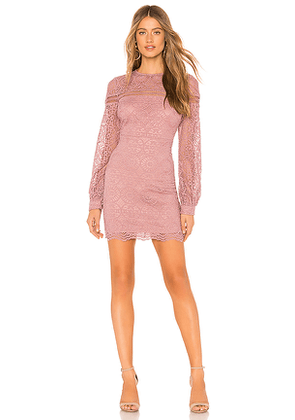 About Us Isabelle Dress in Mauve. Size XS.
