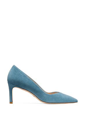 Stuart Weitzman - The Anny 70 Pump In Cerulean Light Blue - Size 42