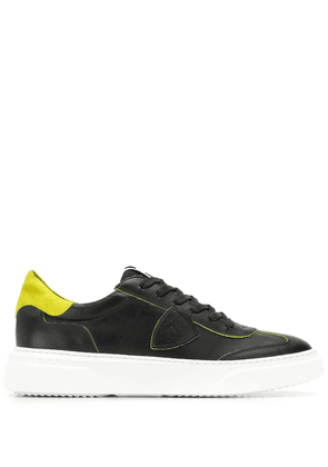 Philippe Model Balu Temple lace-up sneakers - Black