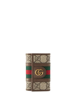 Gucci Ophidia GG keychain - NEUTRALS
