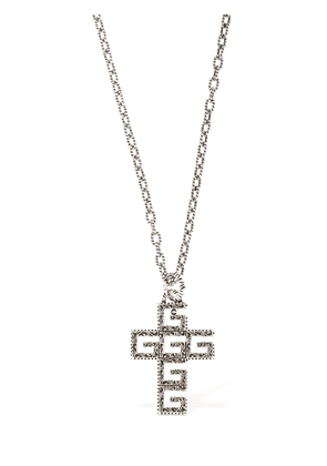 Gg Crucifix Necklace
