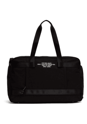 Diesel Black Soligo Travel Bag