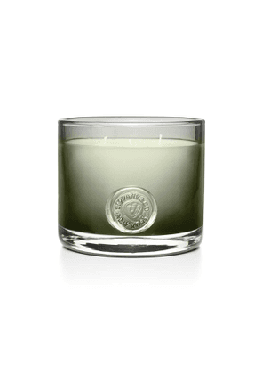Tiffany Seal three-wick candle in grey mouth-blown crystal glass, 30 ounces