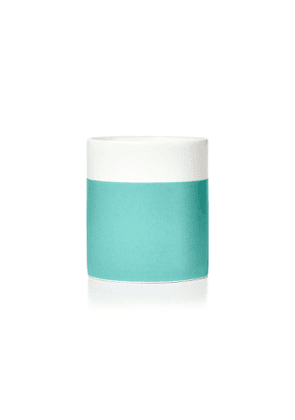 Jasmine candle in a bone china Color Block vessel