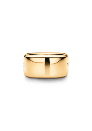 Tiffany 1837™ Makers signet ring in 18k gold, 12 mm wide - Size 6