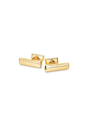 Tiffany 1837™ Makers bar cufflinks in 18k gold