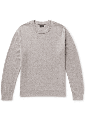 Club Monaco - Mélange Cashmere Sweater - Light gray
