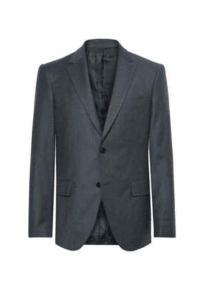 Club Monaco - Navy Slim-fit Wool-flannel Suit Jacket - Navy