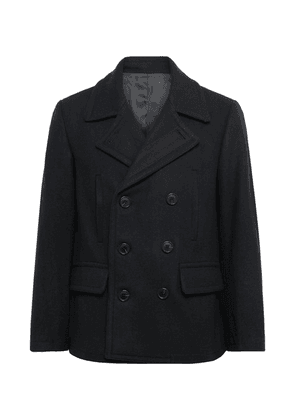 Club Monaco - Double-breasted Wool-blend Peacoat - Navy
