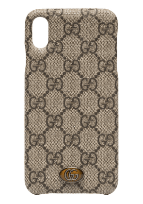 Gucci Ophidia iPhone XS case - Brown