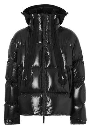 Burberry hooded puffer jacket - Black