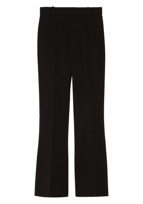 Gucci high-rise flared tailored trousers - Black
