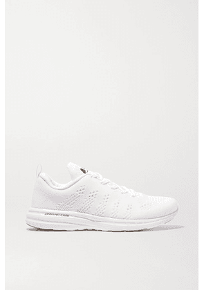 APL Athletic Propulsion Labs - Techloom Pro Mesh Sneakers - White