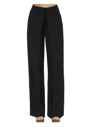 Front Pleat Tailored Wide Leg Pants