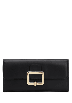 Jinney Smooth Leather Continental Wallet