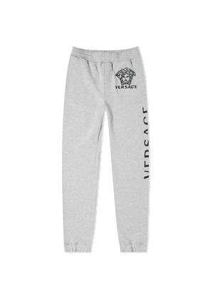 Versace Logo Embroidered Sweat Pant