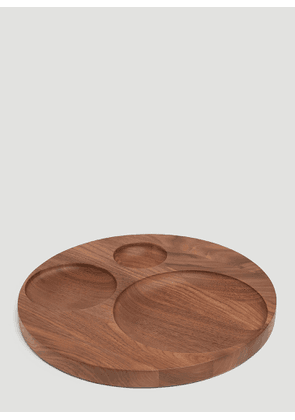 Tre Product Moln Wooden Tray in Brown size One Size