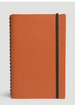 Vacavaliente Ruled Large Notepad in Brown size One Size