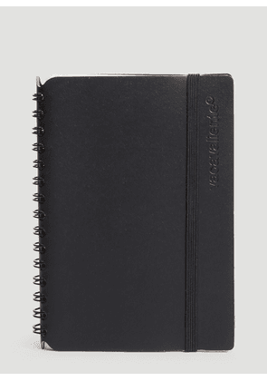 Vacavaliente Pocket Notepad in Black size One Size