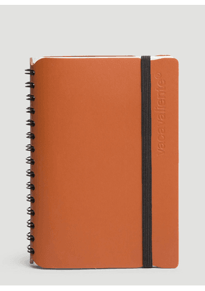 Vacavaliente Pocket Notepad in Brown size One Size