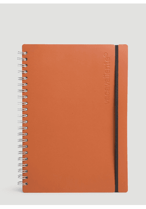 Vacavaliente A4 Ruled Notepad in Brown size One Size