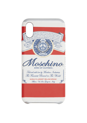 Moschino Red Budweiser Edition iPhone X/XS Case