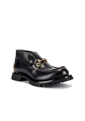 Gucci Harald Boot in Black - Black. Size 10 (also in 8,12).