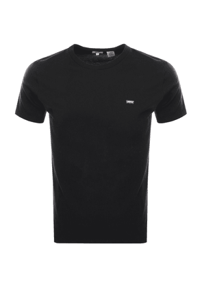 Emporio Armani Lounge Long Sleeved T Shirt Black