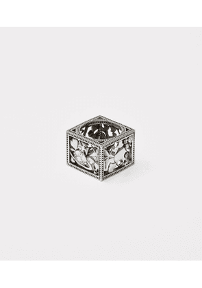 Sterling Silver Aaron Square Ring