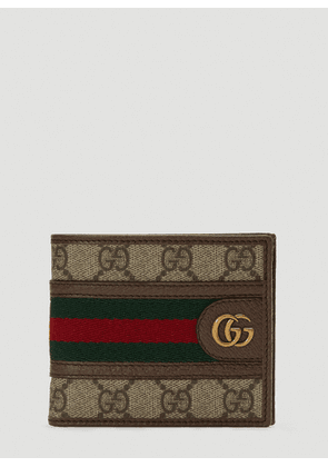 Gucci GG Ophidia Wallet in Brown size One Size