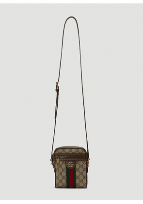 Gucci Mini Ophidia Crossbody Bag in Beige size One Size