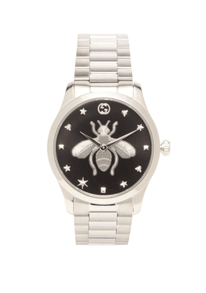 Gucci - G-timeless Stainless-steel Watch - Mens - Silver