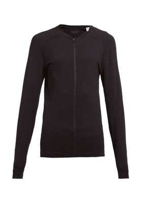 Falke - Zipped Performance Jacket - Womens - Black