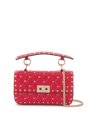 Rockstud Spike Small Leather Shoulder Bag