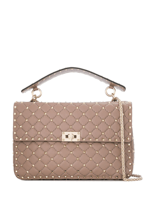 Rockstud Spike Large Leather Shoulder Bag