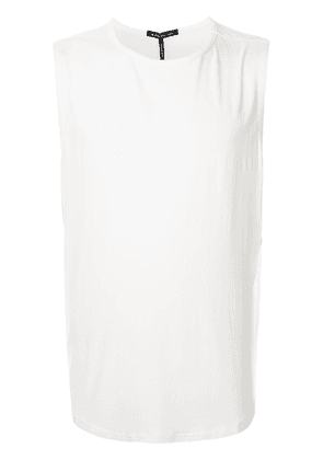 Koral jersey muscle T-shirt - White