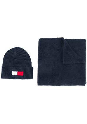 Tommy Hilfiger flag two-piece set - Blue