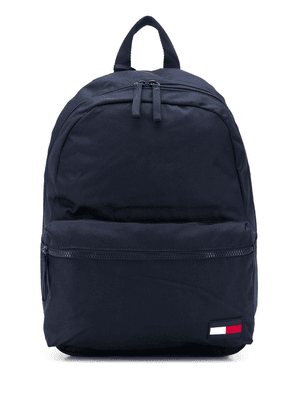 Tommy Hilfiger logo patch backpack - Blue