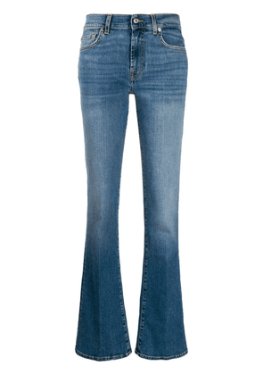 7 For All Mankind flared style jeans - Blue