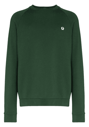 Fred Perry Winter embroidered logo sweatshirt - Green