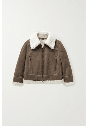 Brunello Cucinelli Kids - Ages 4 - 6 Shearling Jacket