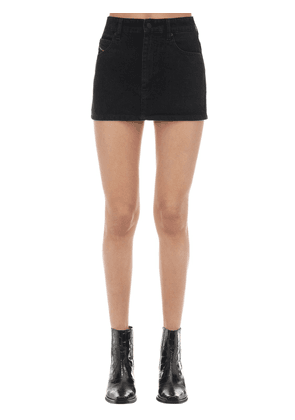 De-eisy Cotton Denim Mini Skirt