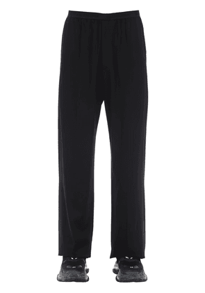 Viscose Blend Fluid Tailored Pants