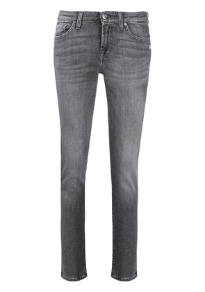 7 For All Mankind slim fit illusion jeans - Grey