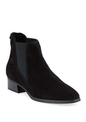 Fiala Suede Gored Booties
