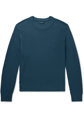 Club Monaco - Ribbed Wool-blend Sweater - Teal