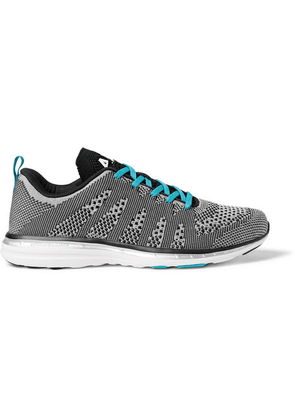 APL Athletic Propulsion Labs - Techloom Pro Running Sneakers - Light gray
