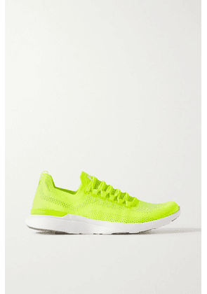 APL Athletic Propulsion Labs - Techloom Breeze Mesh Sneakers - Yellow
