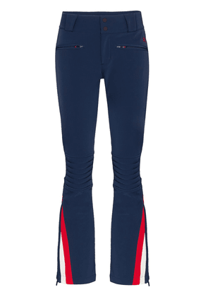 Perfect Moment flared stripe detail ski trousers - Blue
